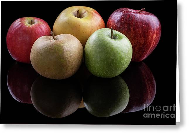 Apples - 001 Greeting Card by Olivier Parent