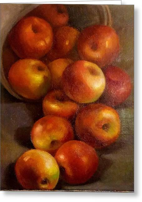 Apples 2 Greeting Card