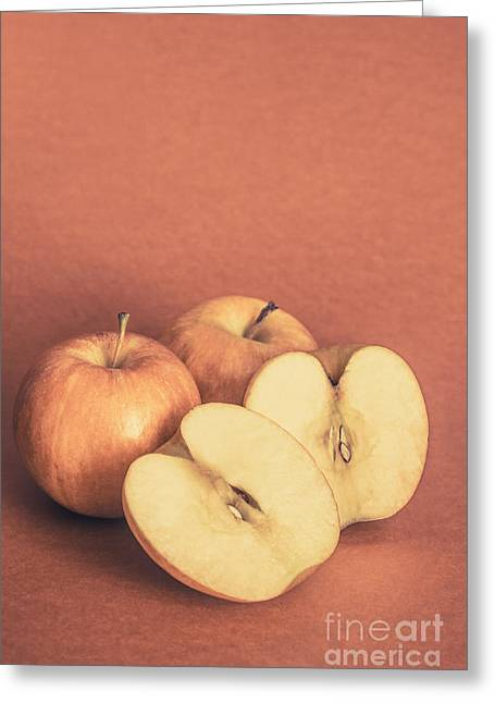 Apples In Autumn Greeting Card by Jorgo Photography - Wall Art Gallery