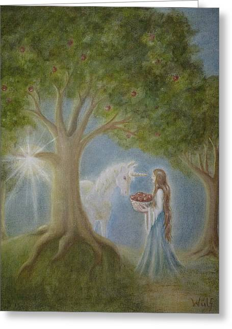 Apples Of Avalon Greeting Card