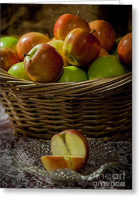 Apples To Share Greeting Card