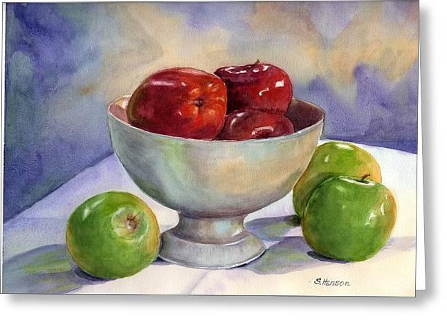 Apples - Yum Greeting Card
