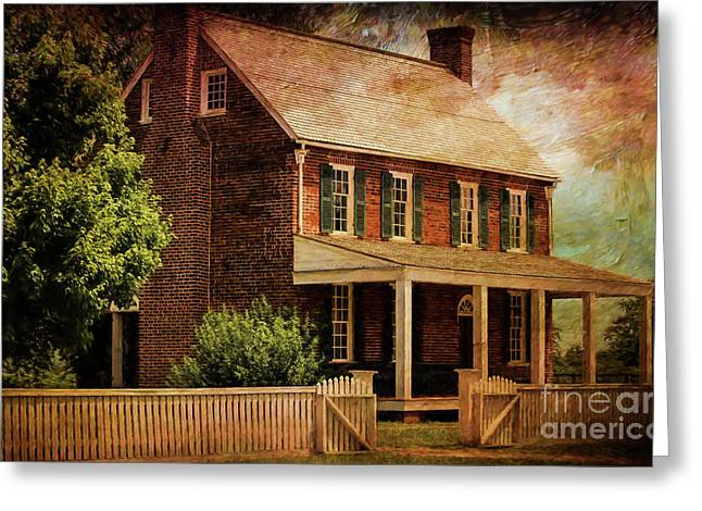 Appomattox Court House By Liane Wright Greeting Card by Liane Wright