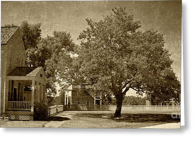 Greeting Card featuring the photograph Appomattox by Pete Hellmann