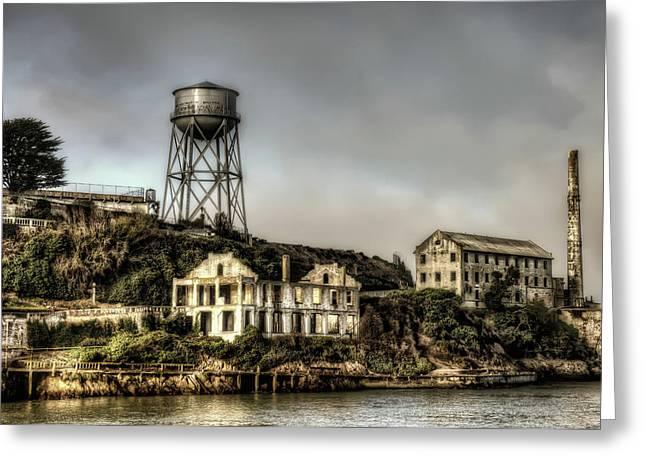 Approaching Alcatraz Island #2 Greeting Card