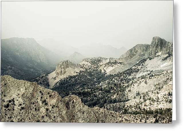 Approaching Silence Greeting Card