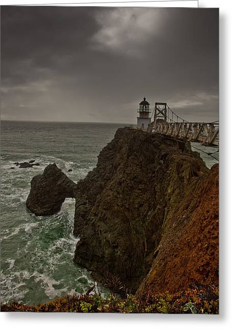 Approaching Storm Greeting Card by Patrick  Flynn