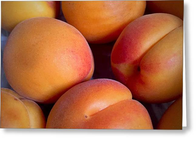 Greeting Card featuring the photograph Apricots by Cristina Stefan