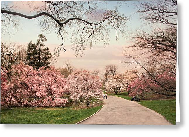 April In Bloom Greeting Card by Jessica Jenney