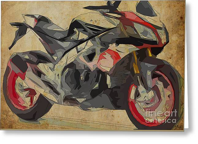 Aprilia Tuono V4 1100 Rr - 2016 Greeting Card by Pablo Franchi