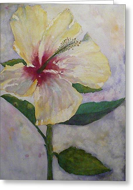 April's Flower Greeting Card by Stella Schaefer