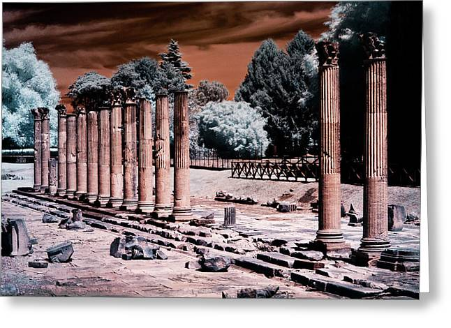 Aquileia, Roman Forum Greeting Card