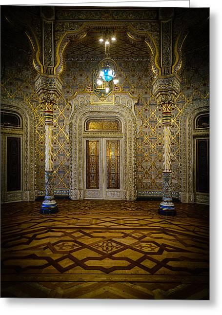 Arab Room Door Greeting Card