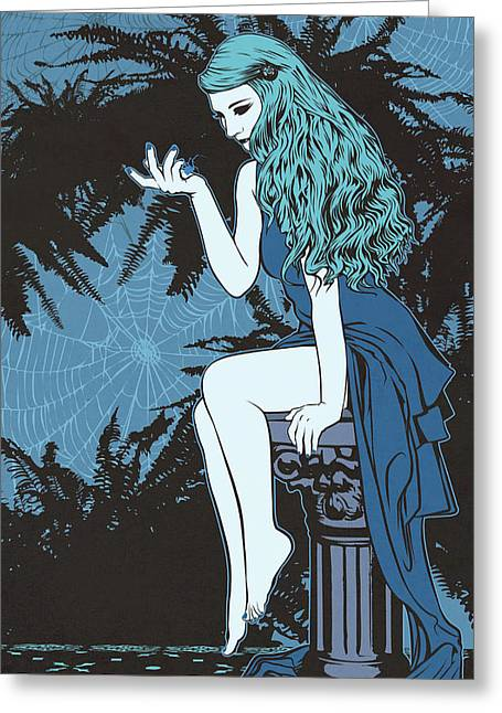 Arachne Greeting Card