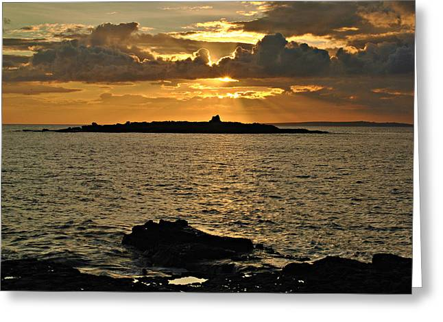 Aran Sunset Greeting Card