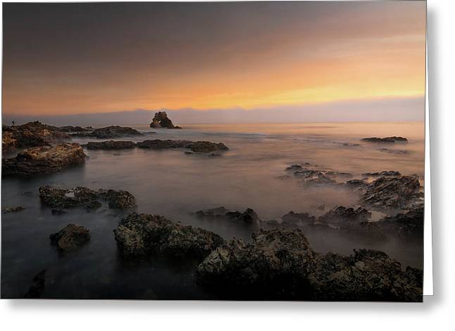Arch Rock At Little Corona Greeting Card by Ralph Vazquez