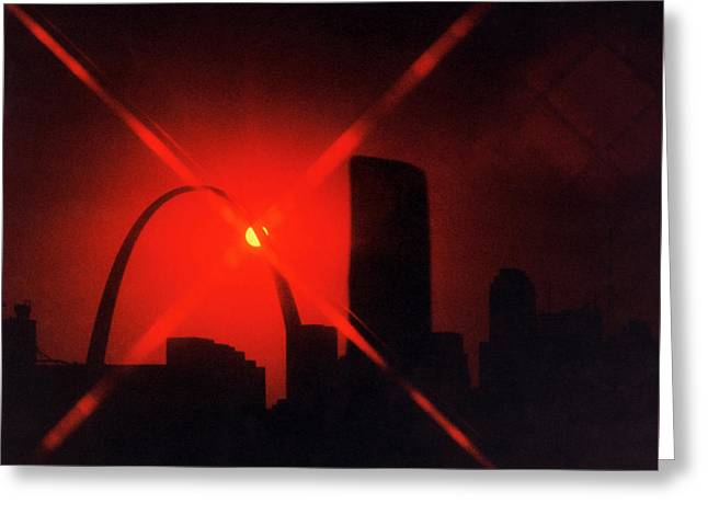 Greeting Card featuring the photograph Arch Study 1 by Christopher McKenzie