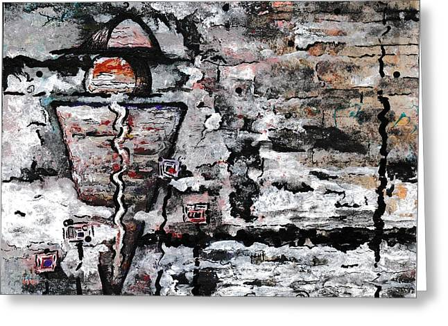 Archaeology Greeting Card by Ronda Breen