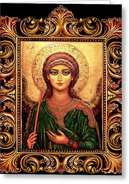 Archangel Gabriel Greeting Card