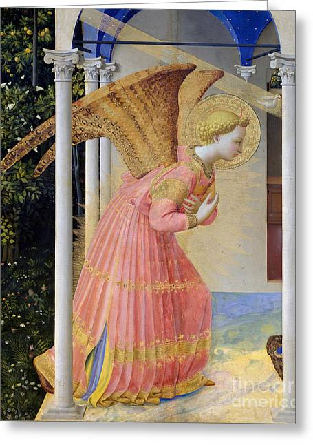 Archangel Gabriel Greeting Card by Fra Angelico