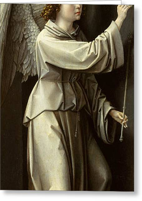 Archangel Gabriel Greeting Card by Gerard David