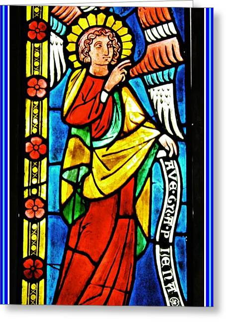 Archangel Gabriel Greeting Card