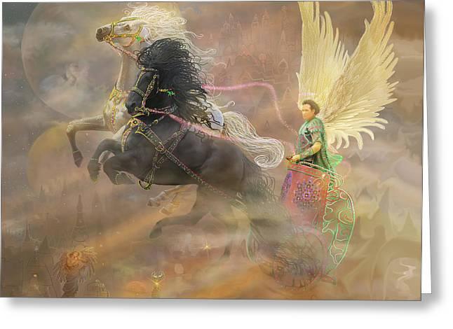 Archangel Metatron Greeting Card
