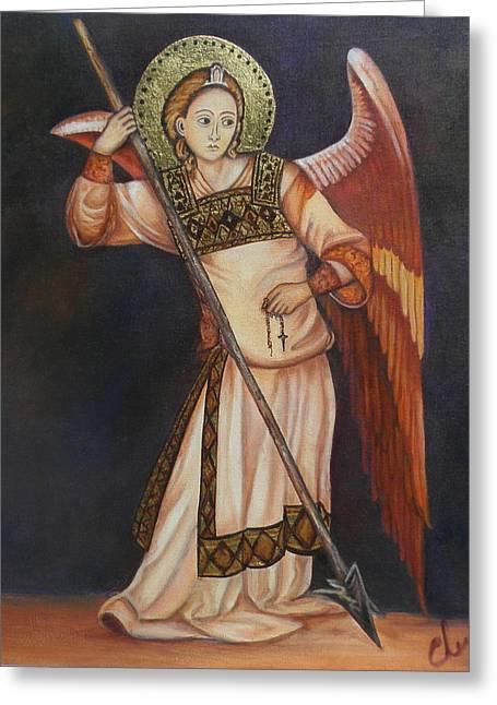 Archangel Michael Greeting Card