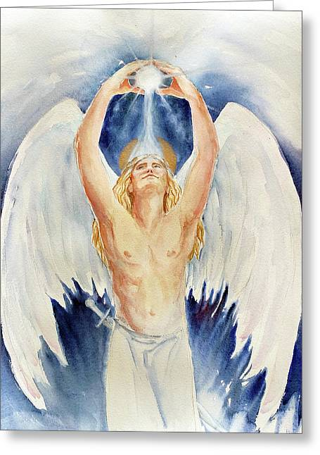 Archangel Michael Greeting Card