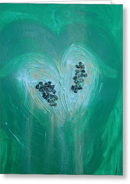 Archangel Raphael Greeting Card by Emerald GreenForest