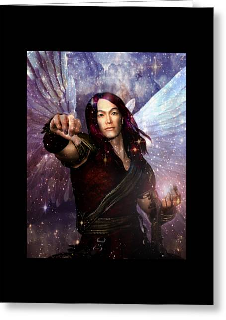 Archangel Raphael Heals Greeting Card