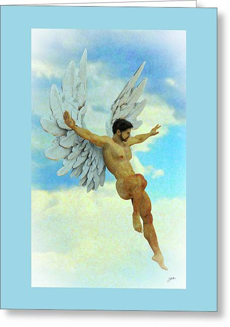 Archangel Uriel Greeting Card