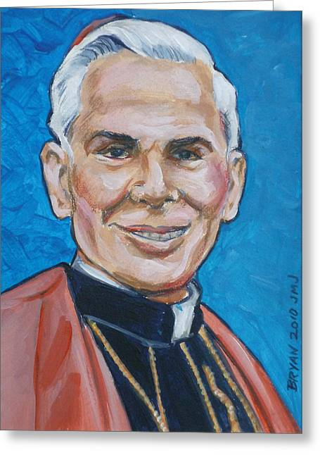 Archbishop Fulton J. Sheen Greeting Card