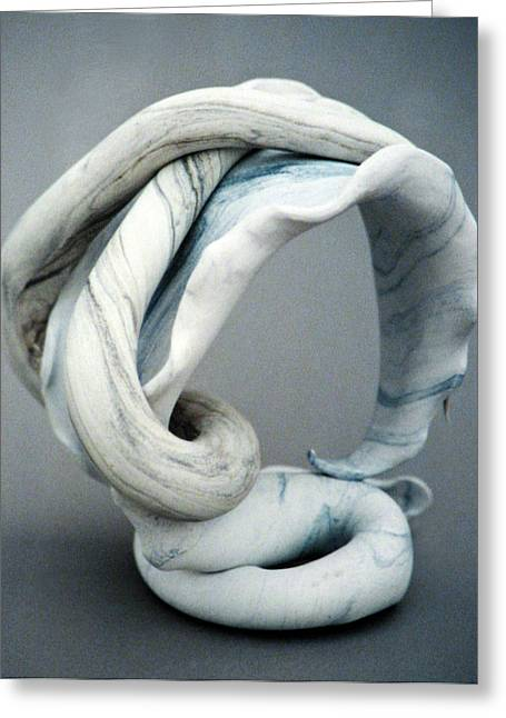Pattern Sculptures Greeting Cards - Arched Greeting Card by Lonnie Tapia