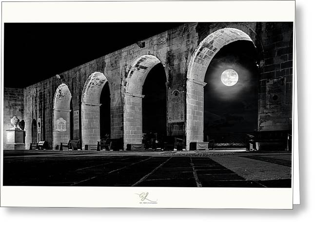 Arched Moon Greeting Card