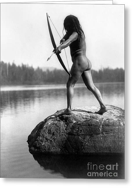 Archery: Nootka Indian Greeting Card by Granger