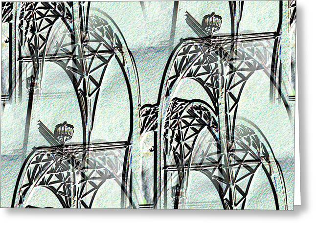 Arches 4 Greeting Card by Tim Allen