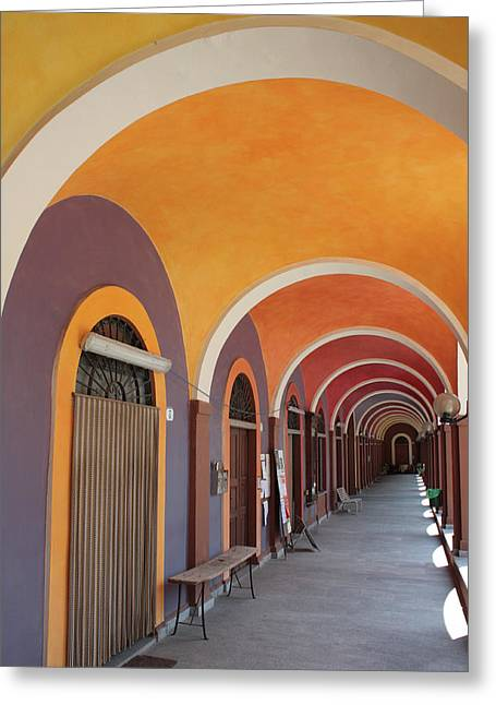 Arches Greeting Card by Bruce