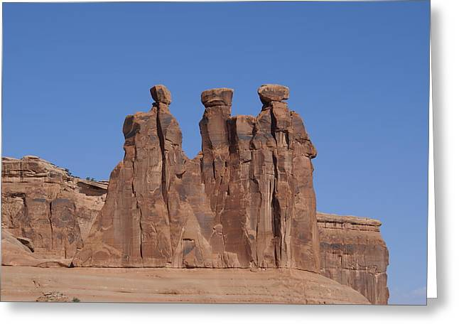 Arches National Park Greeting Card by Cynthia Powell