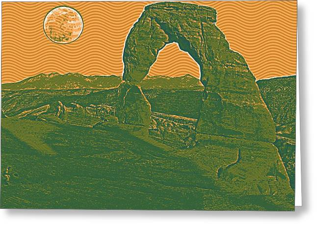 Arches National Park Travel Poster 2arches National Park Travel Poster 2 Greeting Card
