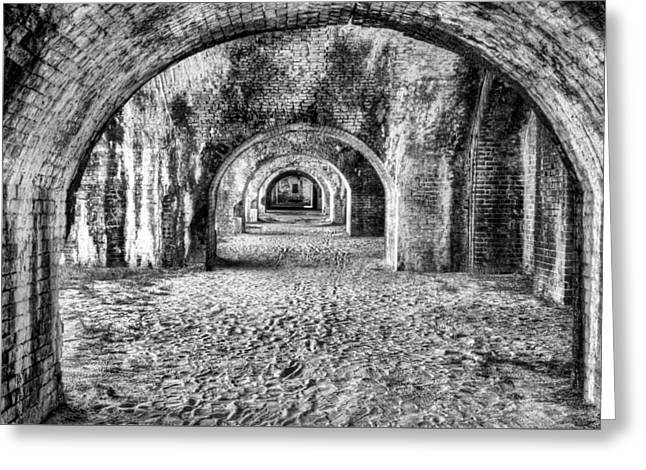 Arches Of Fort Pickens Greeting Card