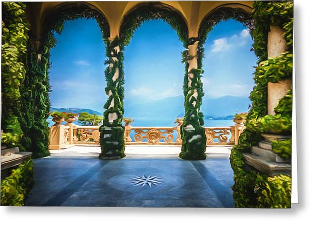 Arches Of Italy Greeting Card