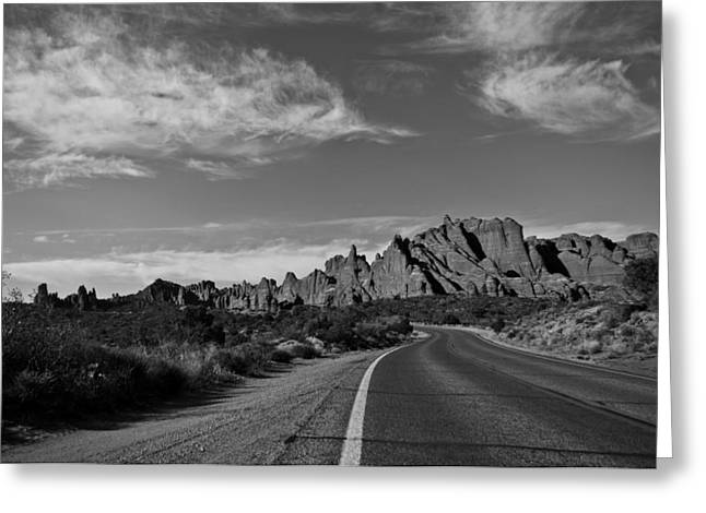 Arches Road Greeting Card