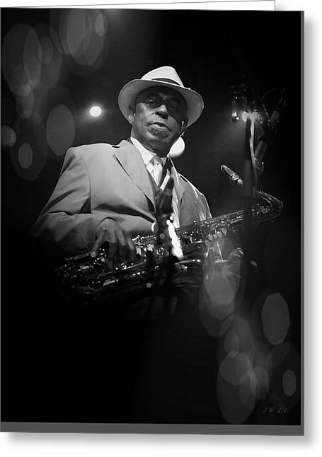Archie Shepp,attica Blues Greeting Card