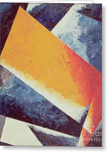 Architectonic Composition Greeting Card