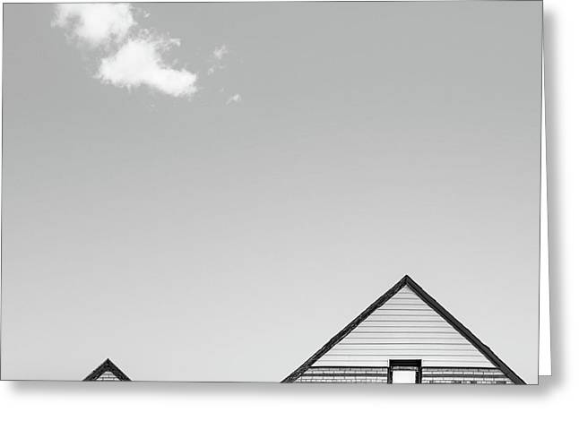 Architectural Ekg Greeting Card