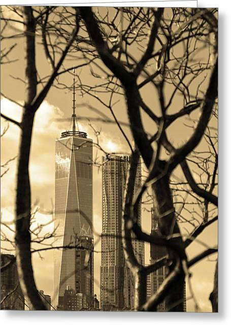 Greeting Card featuring the photograph Architectural by Mitch Cat