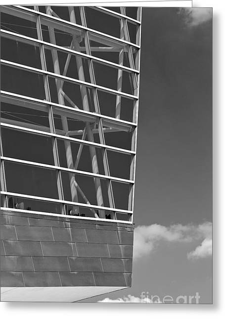 Architectural Modern Building The Bok Center In Tulsa Greeting Card by ELITE IMAGE photography By Chad McDermott