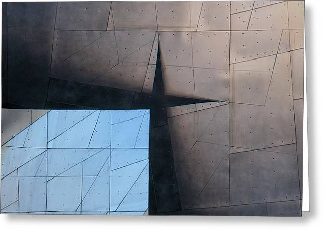 Architectural Reflections 4619a Greeting Card by Carol Leigh