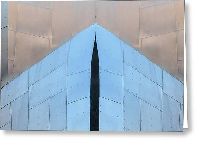 Architectural Reflections 4619k Greeting Card